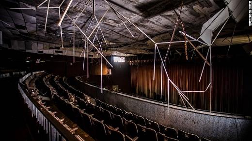 Rạp chiếu phim 'ma ám' - một trong những địa điểm 'nghe đồn' bị ma ám nặng nhất Hồng Kông.