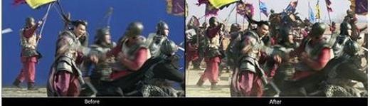 Trong các trận chiến cổ trang mà ta thấy hàng vạn người trên màn ảnh, thực chất họ được 'nhân' lên nhiều lần.