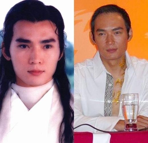 'Đại hiệp' trên màn ảnh Tiêu Ân Tuấn chỉ biết nhớ về thời thanh xuân. Hiện nay vẻ ngoài của anh tiều tụy hơn. Đặc biệt là mái tóc bị hói khiến anh già đi trông thấy.