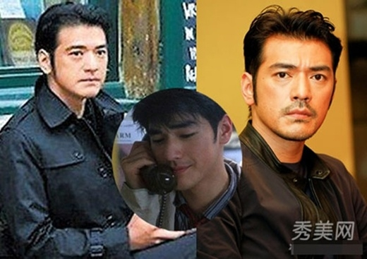 Tài tử điển trai Kim Thành Vũlà mĩ nam màn ảnh Hoa ngữ. Hiện giờ, anh vẫn có nét đẹp của thời thiếu niên, nhưng vùng đầu ít tóc đã tố giác tuổi thật của 'hoàng tử mộng mơ' năm nào.