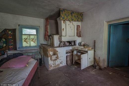 Khu bếp của một gia đình.