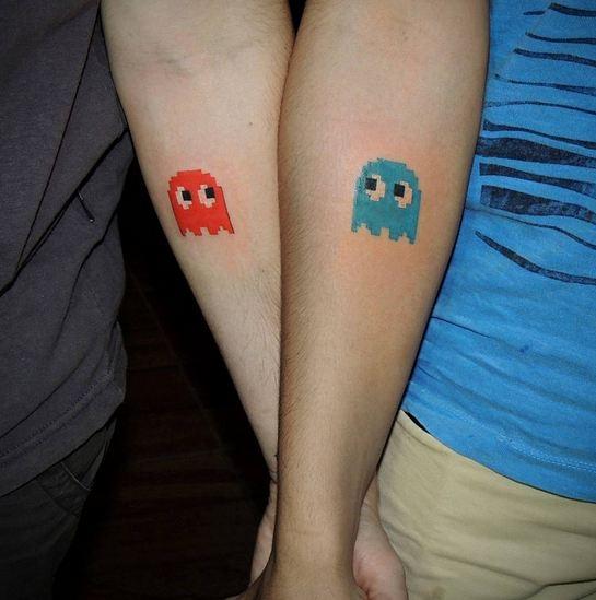 Cặp đôi Pacman dễ thương