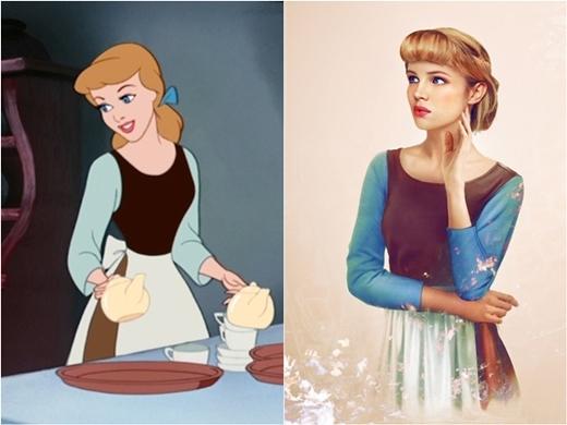 Nàng Cinderella xinh thế này nên hoàng tử mới 'say nắng' trong ba-nốt-nhạc là điều dễ hiểu.