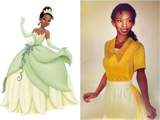 Công chúa Tiana đẹp ngọt ngào như một viên sô-cô-la đen.