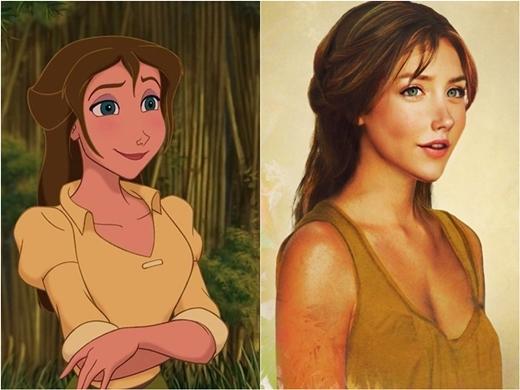 Người yêu của Tarzan cũng không kém phần thu hút.