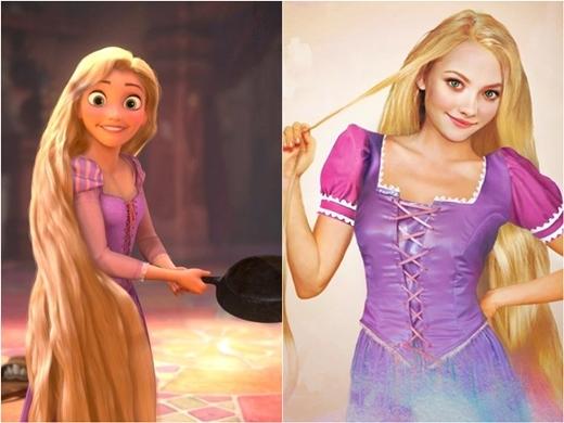 Công chúa tóc dài vẫn giữ vẻ tinh nghịch, ngây ngô.