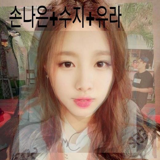 Sự kết hợp vẻ đẹp giữa Naeun (A Pink), Suzyvà Yura cực kì hoàn hảo.