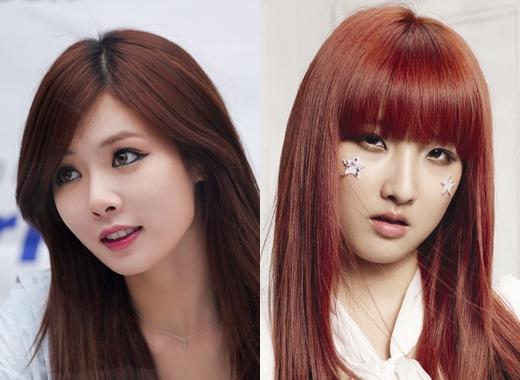 Khi mới biết đến 4minute, chắc hẳn người hâm mộ sẽ nghĩ rằng 'nữ hoàng gợi cảm' HyunAlà trưởng nhóm mà không nghĩ đếnJihyun mới thực sự là 'chị cả'.