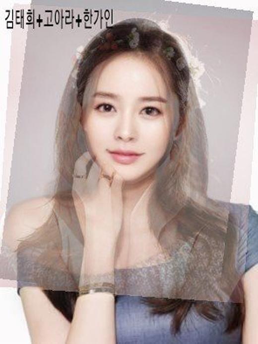 Gương mặt được tạo nên từ 3 ngọc nữ Kim Tae Hee, Go Ara và Han Ga In được đánh giá rất cao và nhận được rất nhiều sự yêu thích.