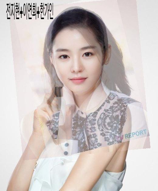 Người đẹp 'lai' giữa Jun Ji Hyun, Lee Yeon Hee và Han Ga In với nét đẹp trong sáng và gương mặt thanh tú.