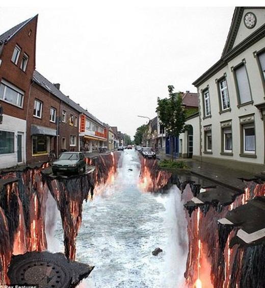 Nhìn vào bức ảnh trên, liệu bạn có nghĩ thành phố này đã phải trải qua thảm họa diệt vong?