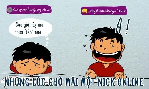 Bạn có từng thao thức hàng đêm chờ 'nick' của ai đó bật sáng không?