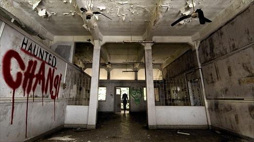 Bệnh việnChangi hoang tàn và u ám.