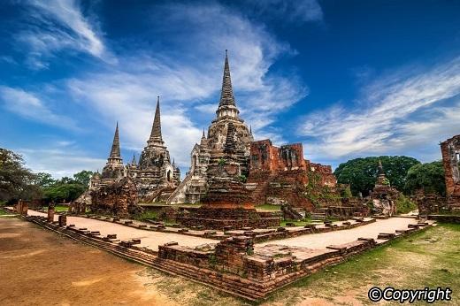 Ayutthaya bình yên của ngày nay.