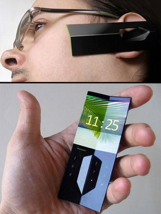 Một thiết bị số có thể đeo trên tai, bạn sẽ không phải tốn công cầm điện thoại nữa.