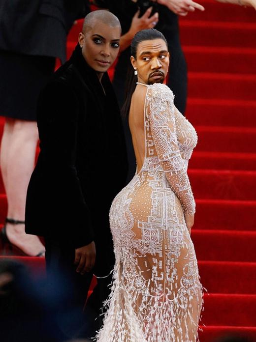 Kanye West và Kim Kardashian