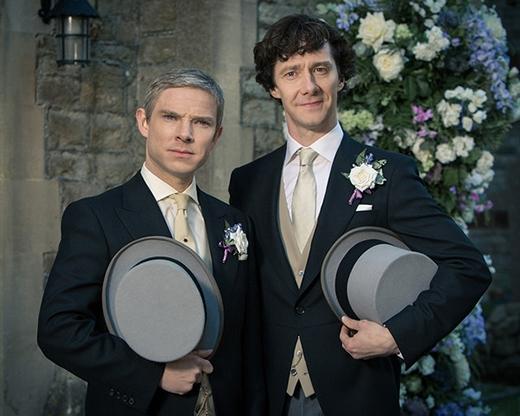 Benedict Cumberbatch và Martin Freeman