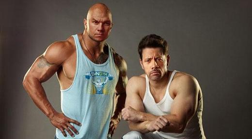 The Rock và Mark Wahlberg