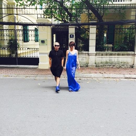 Hoàng Touliver diện giày cùng màu với trang phục của cô em gái Tóc Tiên - Tin sao Viet - Tin tuc sao Viet - Scandal sao Viet - Tin tuc cua Sao - Tin cua Sao