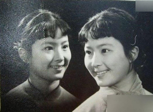 Vẻ đẹp của mẹ Lưu Diệc Phi thời trẻ khiến nhiều người xao xuyến.