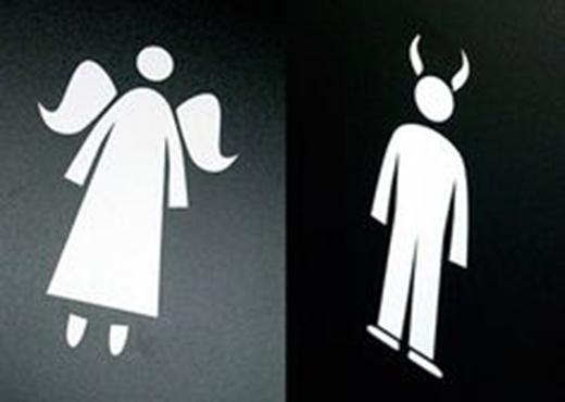 Phụ nữ là thiên thần, và đàn ông lại là ác quỷ?