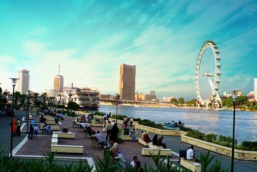 Vòng quay Thiên Niên Kỉ của Luân Đôn chắc chắn sẽ thu hút rất nhiều khách du lịch sông Nile.