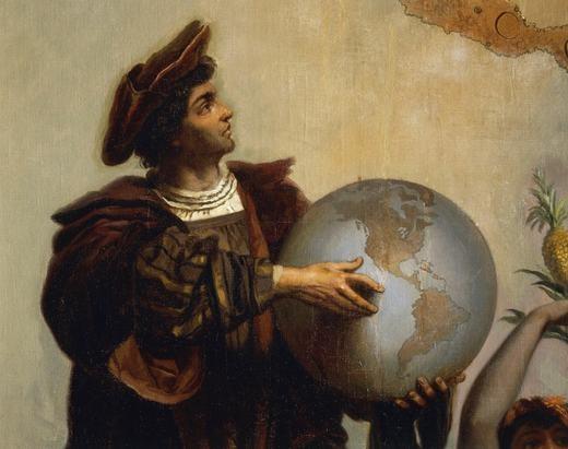 Columbus tin rằng Trái đất có hình quả lê.