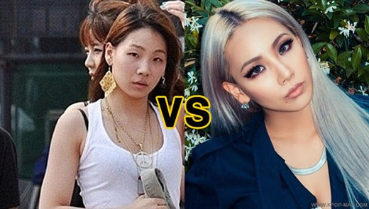 Một số người không khỏi bất ngờ khi nhìn mặt mộc của CL.