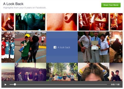 Bạn có thể truy cập vào địa chỉ facebook.com/lookbackđể xem lại toàn bộ những gì nổi bật nhất kể từ khi bạn dùng Facebook từ trước đến nay. Tất nhiên, bạn có thể chỉnh sửa chúng trước khi chia sẻ với bạn bè.