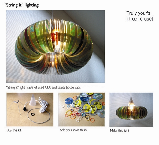 Một chiếc đèn treo trần nhà thế này cũng là một ý tưởng hay ho đấy!