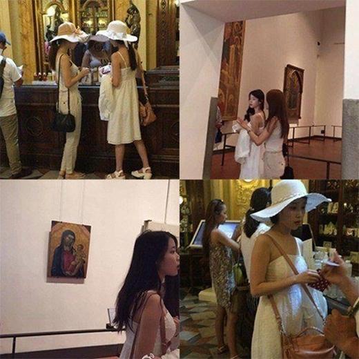 Cả hai trong chuyến du lịch sang Ý đầu tháng 8 vừa qua