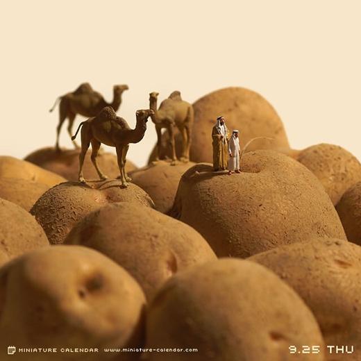 Sa mạc khoai tây...