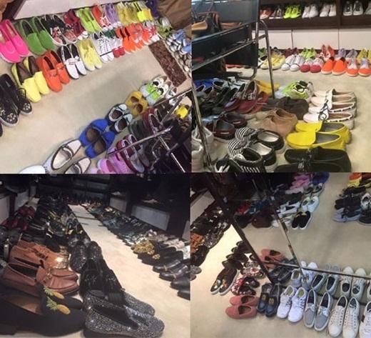 Phòng lưu trữ đồ của 'ông hoàng nhạc Việt' khiến cho bất cứ một shop thời trang nào cũng phải ganh tị. - Tin sao Viet - Tin tuc sao Viet - Scandal sao Viet - Tin tuc cua Sao - Tin cua Sao
