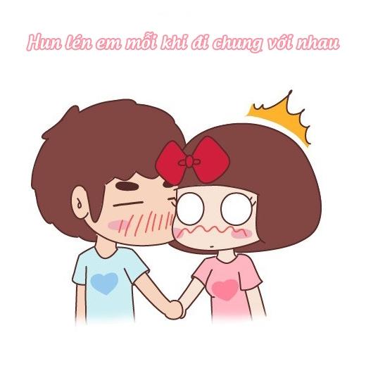 Đôi khi anh lại lãng mạn như thế này...