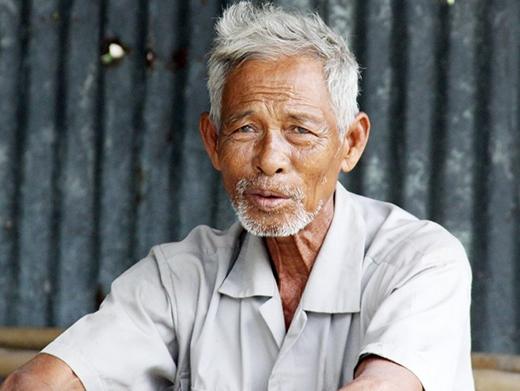 Cụ ông 81 tuổi xác nhận, đã gặp hố nước sôi lúc 7 tuổi. (Ảnh: Zing)