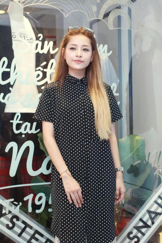 Tham dự một sự kiện thời trang, Chi Pu được dịp thể hiện cá tính thời trang của mình. - Tin sao Viet - Tin tuc sao Viet - Scandal sao Viet - Tin tuc cua Sao - Tin cua Sao