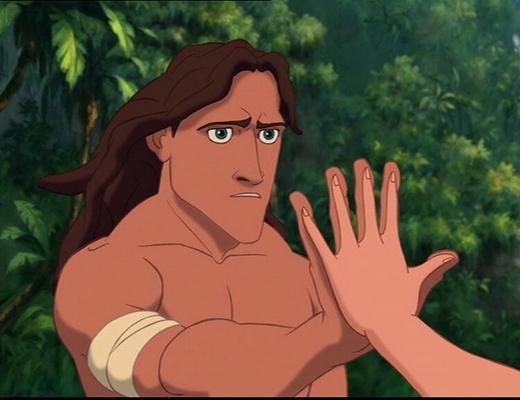 Tại sao sống trong rừng từ nhỏ, nhưng Tarzan lại đẹp trai và không có râu?