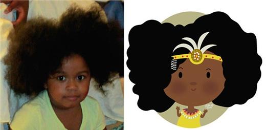 Bạn có 'chết mê' với nàng công chúa tóc xù này không?