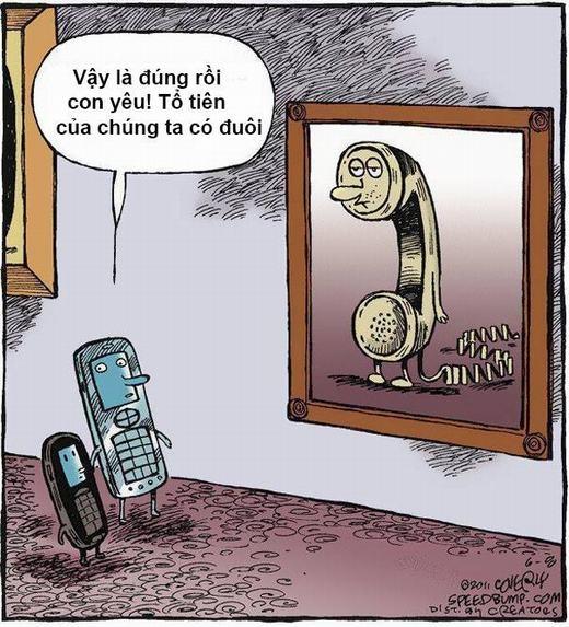 Từ ngày điện thoại di động ra đời và ngày càng cải tiến, không mấy người còn nhớ đến thế hệ điện thoại bàn cũ kĩ ngày xưa.
