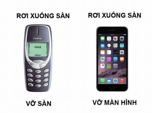 Những chiếc điện thoại 'nồi đồng cối đá' đã bị thay thế bởi những chiếc smartphone mong manh và dễ vỡ.