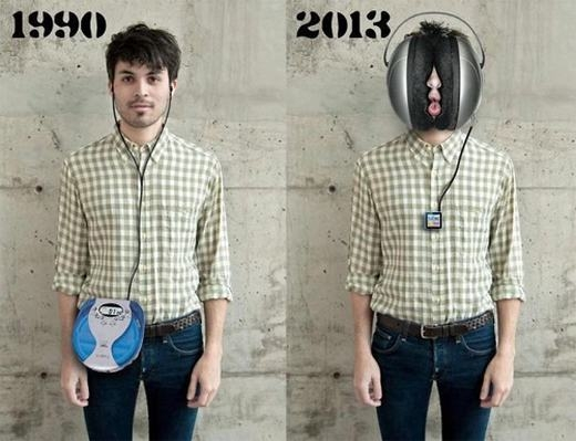 Bạn có còn nhớ những chiếc máy nghe nhạc kiểu này?
