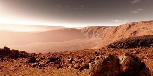 Thực chất, sao Hỏa chỉ có đất đá.