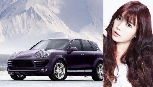 'Em gái quốc dân' IUsở hữu chiếc xe mang nhãn hiệu Porche Cayenne được định giá khoảng 2,4 tỉ đồng.