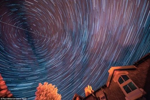 Mưa sao băng tuyệt đẹpđược chụp tại Gemma Lavender.