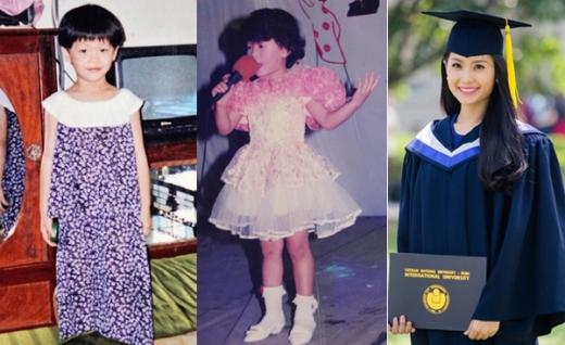 Những năm tháng tuổi thơ gắn liền với mái tóc ngắn của á hậu Diễm Trang. - Tin sao Viet - Tin tuc sao Viet - Scandal sao Viet - Tin tuc cua Sao - Tin cua Sao