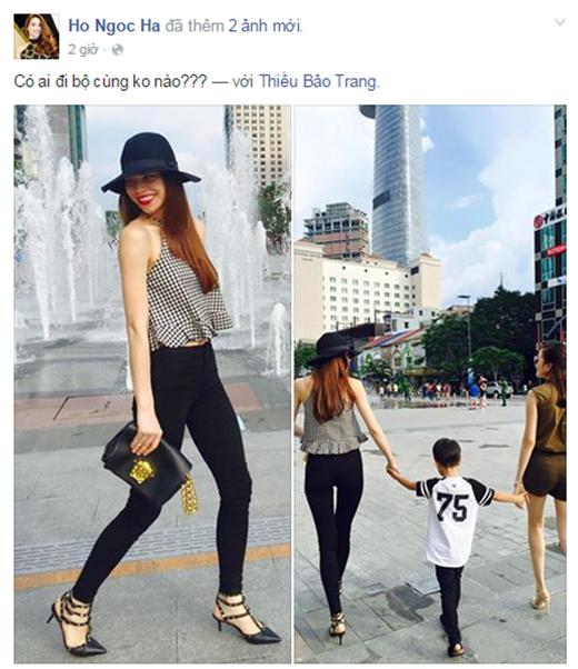 Nếu như Hồ Ngọc Hà chỉ hỏi một câu đơn giản'Có ai đi bộ cùng không nào?' - Tin sao Viet - Tin tuc sao Viet - Scandal sao Viet - Tin tuc cua Sao - Tin cua Sao
