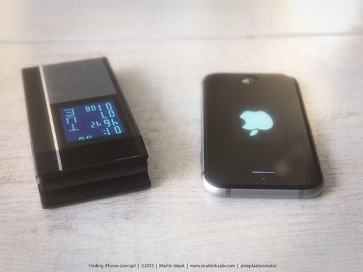 Tất nhiên, giống như nhiều mẫu điện thoại nắp gập, iPhone 7 cũng có màn hình phụ hiển thị bên ngoài - thay thế cho màn hình chính của iPhone hiện tại.