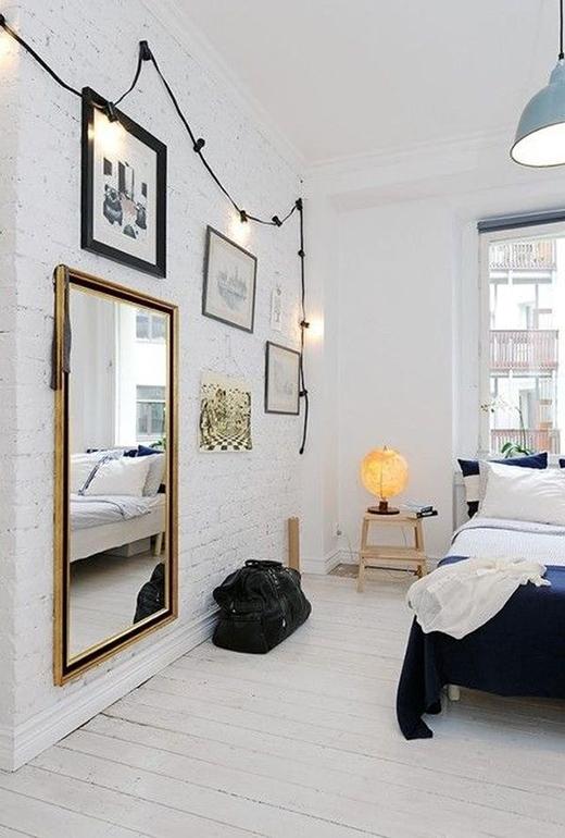 Thay đổi không khí đón tết cùng 1001 cách decor phòng ngủ với LED.