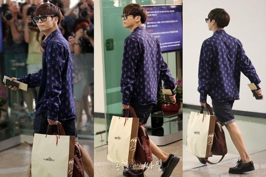 Dù vẫn còn trông khá to nhưng chân của Jonghyun (SHINee) so với con trai vẫn thon thả, trắng trẻo và mịn màng chán.