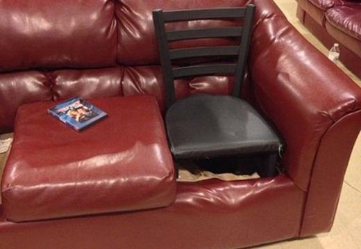 Dù gì thì cũng là ghế...